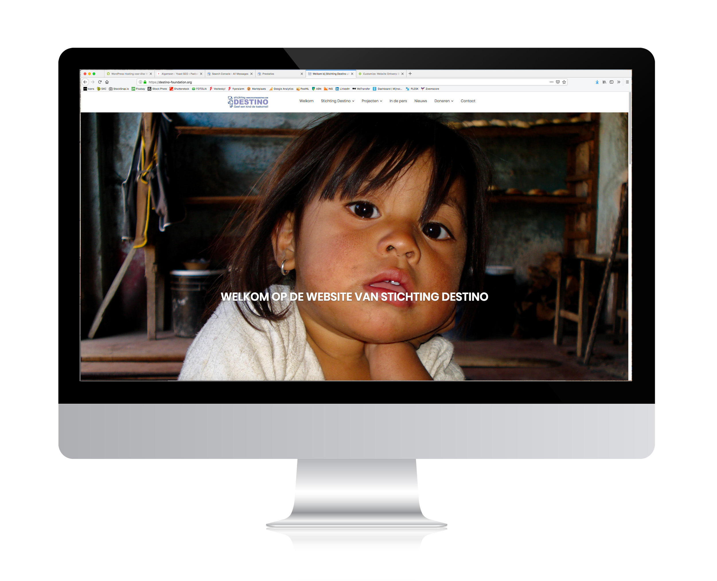 website stichting Destino